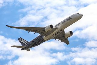 Airbus A350XWB at the Paris air show MAKS-2017