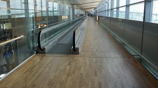 The transition to Oslo airport Gardermoen