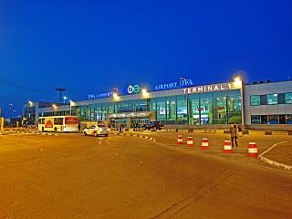 Terminal 1 domestic airlines Ufa airport