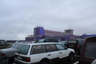 Аэропорт Норильск Алыкель с привокзальной площади