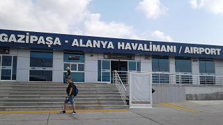 The passenger terminal of the airport to Gazipasa