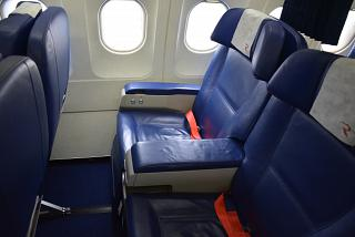 "Armchairs business class in the Airbus A319 VQ-BAS ""Sanicole"" airline ""Russia"""