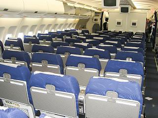 The cabin Airbus A330-300 airline I Fly