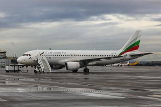 Airbus A320 LZ-FBE авиакомпании Bulgaria Air в аэропорту София