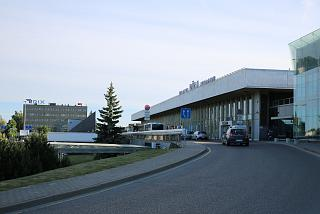The terminal building of Riga airport