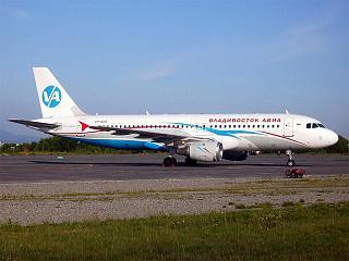 Aibus A320 авиакомпании Владивосток авиа