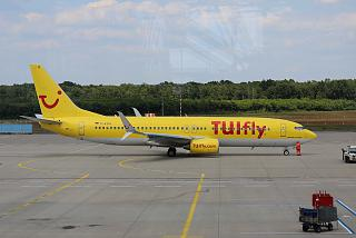 Boeing-737-800 D-ATUI airline TUIfly airport Cologne/Bonn