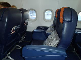 Seats business-class Airbus A321 Aeroflot