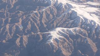 The mountains in Afghanistan