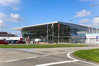 The new passenger terminal of Ostrava Leos Janacek airport