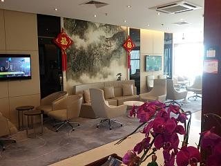 Business-the SkyTeam lounge at Shenyang Taoxian international airport