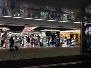 The Duty Free store in terminal 2 of airport Tokyo Narita