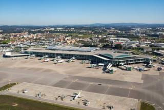 Apron of Porto Francisco Carneiro Airport