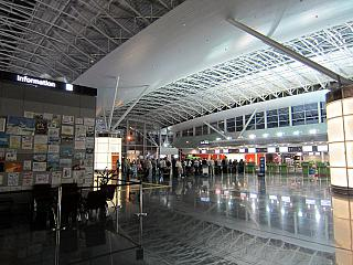 In Terminal D of Boryspil airport