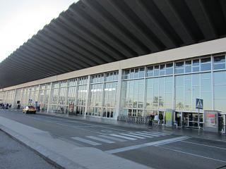 Terminal 2 Area In the airport of El Prat in Barcelona