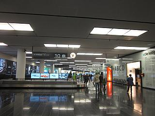 Зал выдачи багажа в аэропорту Вена Швехат