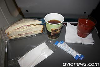 Питание на рейсе Киев-Львов Днеправиа
