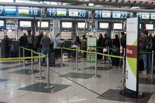 Reception flights of the airline TAP Porto airport