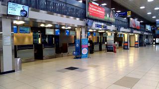 Стойки регистрации в аэропорту Челябинск Баландино