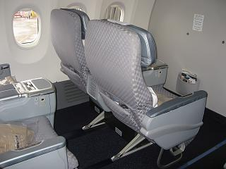 The business class on the Boeing-737-900 airline El al