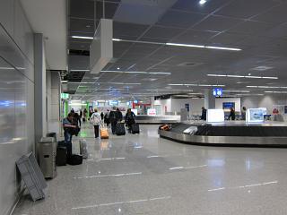 Зал выдачи багажа в терминале 2 аэропорта Франкфурт