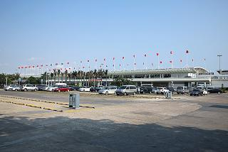The domestic terminal of Sanya Phoenix international airport