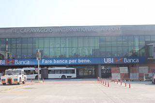 Аэровокзал аэропорта Бергамо