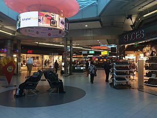 "The shopping area is ""Schiphol Plaza"" at Amsterdam airport"