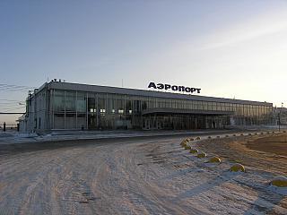 Аэровокзал аэропорта Пермь Большое Савино