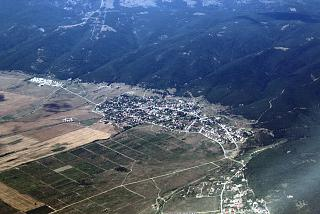 The village of Kosharitsa in Bulgaria
