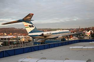 The Tu-134 in the Museum of technology in Sinsheim