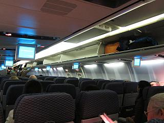 The cabin of the aircraft Boeing-737-800 airlines United
