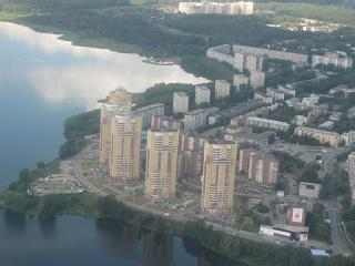 District Khimmash in Yekaterinburg