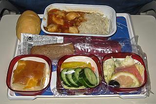 Питание на рейсе Трансаэро Москва-Лос-Анджелес