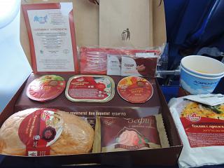 Кошерное питание на рейсе Аэрофлота Москва-Брюссель