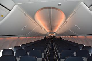 "The passenger cabin of the Boeing-737-800 of airline ""Russia"""
