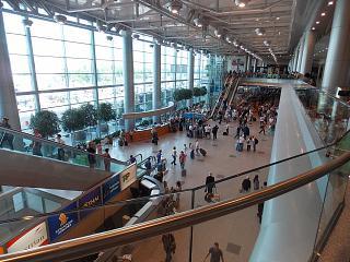 В пассажирском терминале аэропорта Москва Домодедово