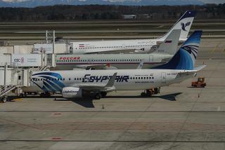 Самолеты у гейтов в аэропорту Милан Мальпенса