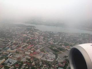 View of the center of Irkutsk