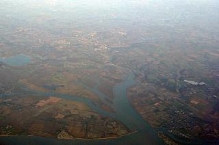 City Brightlingsea and Colchester to the South of the UK