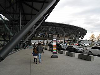Terminal 1 Hall B of the airport of Lyon Saint-exup