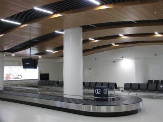 Зал выдачи багажа в аэропорту Нижний Новгород