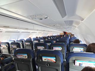 The cabin Airbus A320 SAS