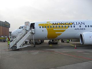 Боинг-737-800 Монгольских авиалиний