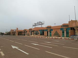 The terminal of the airport Agadir al Massira