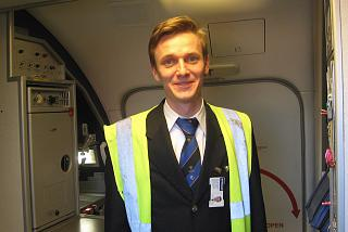 Flight attendant Ryanair