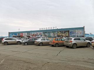 Аэровокзал аэропорта Ижевск