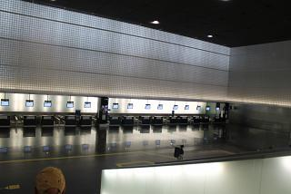 Reception in the terminal B T2 Barcelona airport