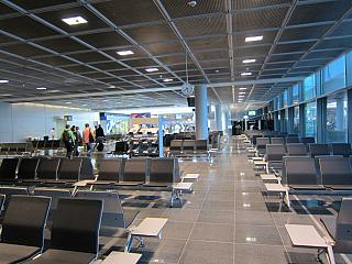 The waiting room in clean area of the airport Frankfurt am main