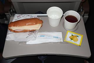 Flight meals on the flight Krasnodar-Moscow Red Wings airlines